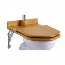Сиденье- трон для унитаза с высоким бачком, золотистый дуб [S14]