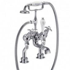 """Смеситель для ванны """"под наклоном"""" с ручным душем, Regent, набортный [ANR19]"""
