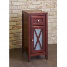 Шкаф с одной дверцей, красное дерево [EU3M]