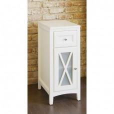 Шкаф с одной дверцей, белый [EU3W]