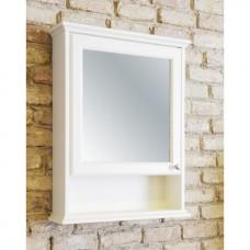 Зеркальный шкаф подвесной, белый [EU4WN]