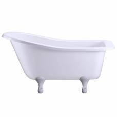 Ванна акриловая Buckingham Slipper c ножками E10 WHI