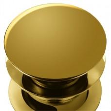 Нажимная кнопка слива Click-Clack для раковины [W11 GOL]