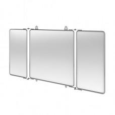 Трёхстворчатое зеркало 1143x30x600 mm, ХРОМ