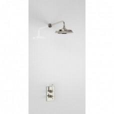 Душевая стойка с встроенным термостатом на 1 выпуск, верхняя лейка 9' [H400-ARC]