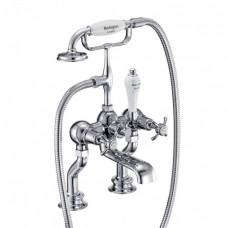 Cмеситель для ванны с ручным душем, Regent, набортный [ANR15]