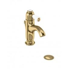 Смеситель на 1 отверстие однорычажный с донным клапаном [CH22 GOL]
