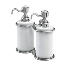 Дозатор для жидкого мыла, двойной [A20 CHR]