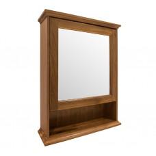 Зеркальный шкаф подвесной, цвет орех [EU4D]