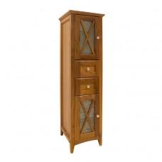 Шкаф-пенал высокий, цвет орех [EU1D]